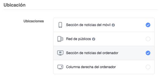 editar ubicaciones de anuncios en facebook